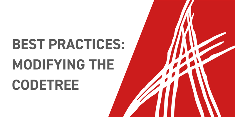 Best Practices for Modifying the Innovator Codetree