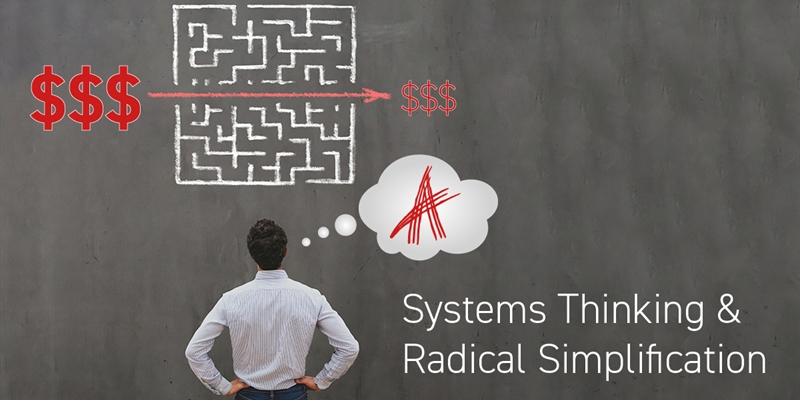 Systems Thinking and Radical Simplification
