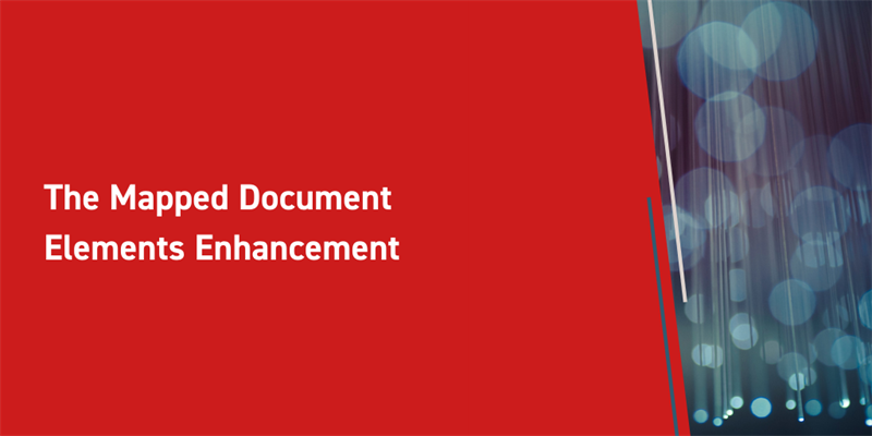 The Mapped Document Elements Enhancement