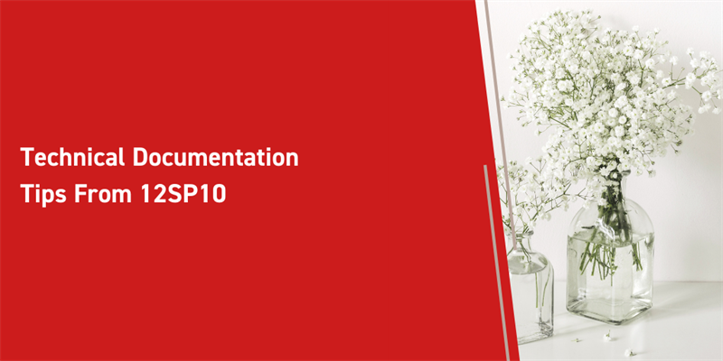 Technical Documentation Tips From 12SP10