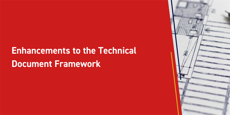 Enhancements to the Technical Document Framework