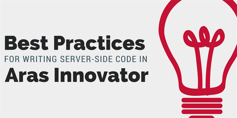 Aras Best Practices: Server-side Code