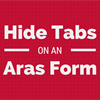 Hide Relationship Tabs on Aras Forms