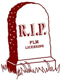 RIP PLM licenses