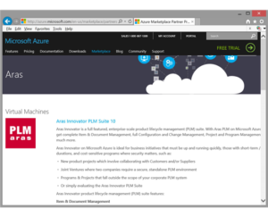 Aras on Microsoft Azure
