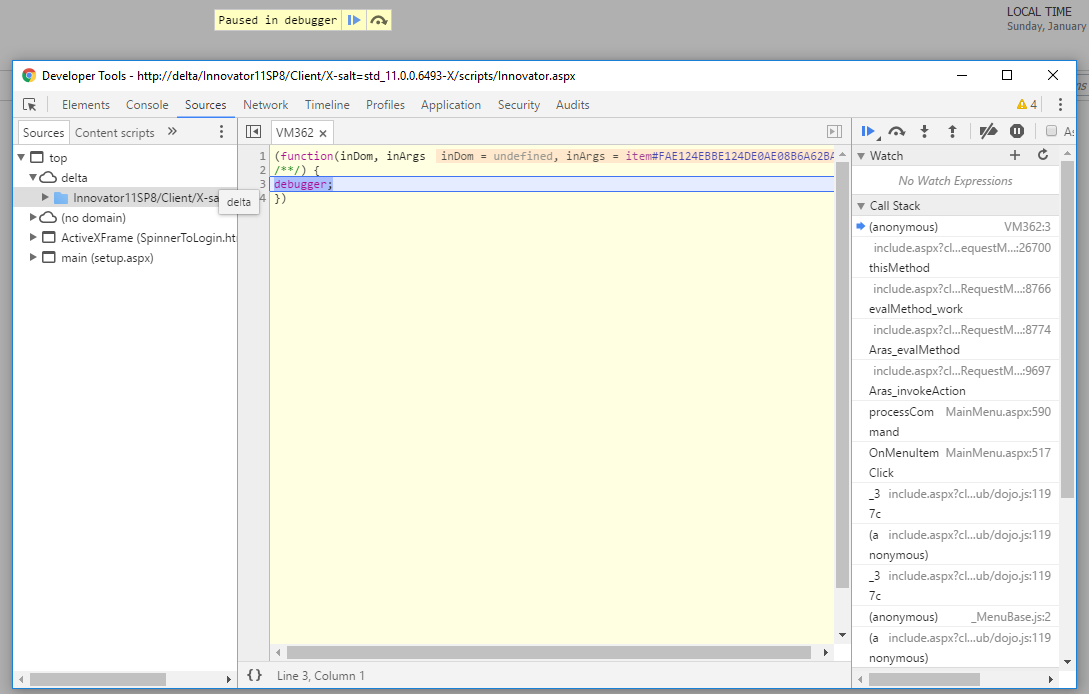 Debug client code in Chrome, and Firefox, and IE, and Edge