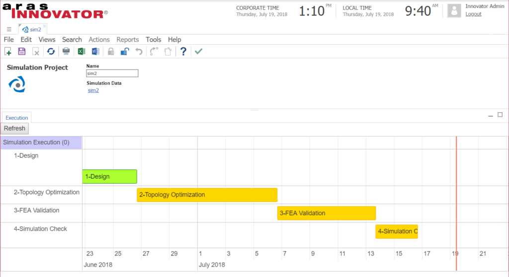 Display a Workflow As a Timeline Using Vis js - English Blog - Aras